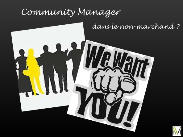 Community Manager dans le non marchand we want you