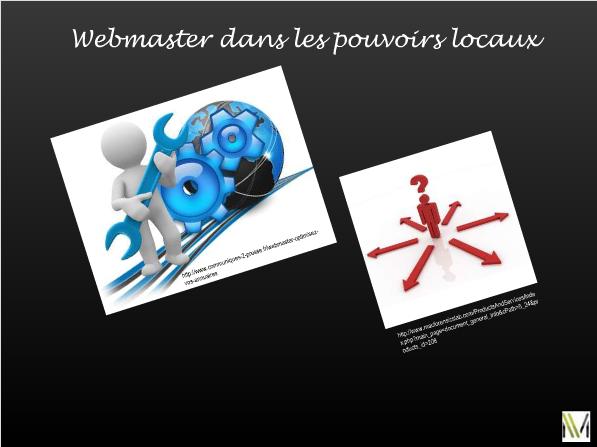 webmasteur - pouvoirs communaux