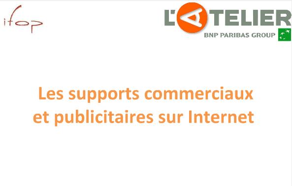 ifop - français -etudes - pub en ligne