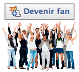 Devenir Fan - Facebook