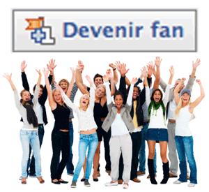 Devenir Fan - Facebook