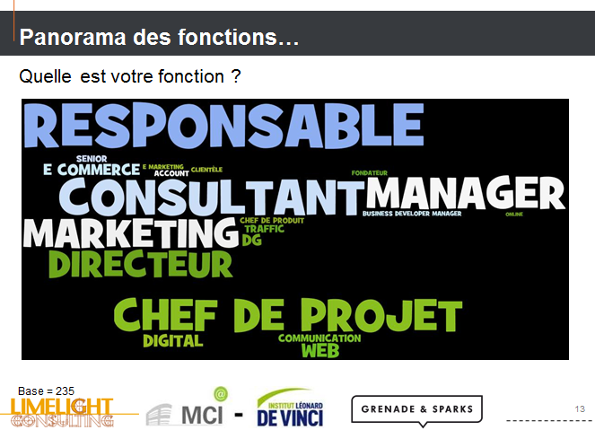 E-Marketing profil emarketeur
