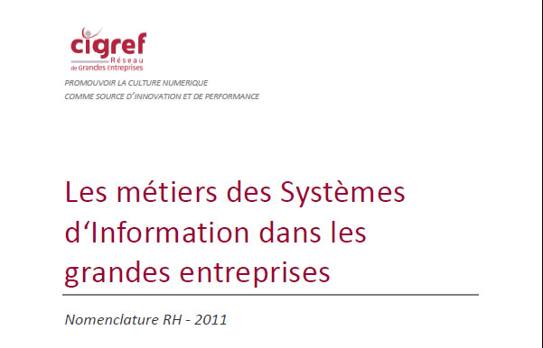 Rapport CIGREF 2011