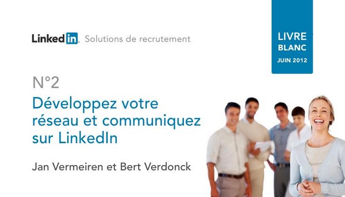 Réseau et communication sur LinkedIn