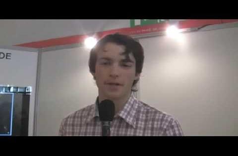 Interview de Florent Grandjean et de Loïc Bar au salon Solutions Business, le 23 avril 2009